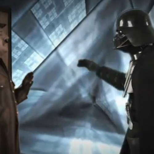 Darth Vader and Adolf Hitler Throws it Down in an Epic Freestyle Battle Rap