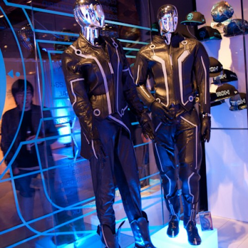 TRON: Legacy Pop-up Shop Grand Opening Party with Gallery