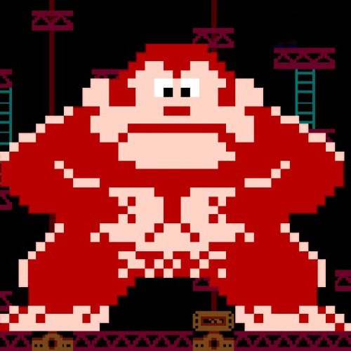 Awesome Pixel Animation Featuring Donkey Kong