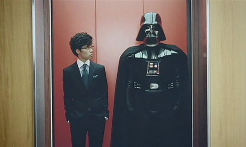Darth Vader Approves the Samsung Galaxy S
