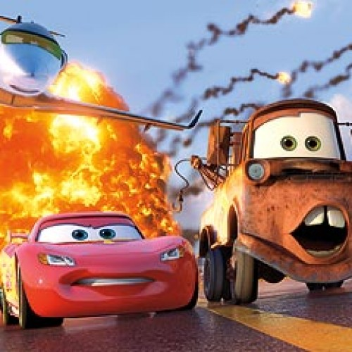 Debut of Cars 2 Poster and Photo of Lightning McQueen and Mater