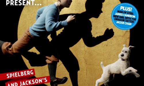 """Great Snakes!"" First Look at Peter Jackson's and Steve Spielberg's Tintin!"