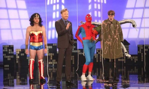 Conan Takes 2 More Jabs at Spider-Man: Turn Off the Dark