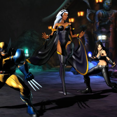 C. Viper and Storm Screenshots for Marvel vs. Capcom 3