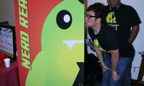 Nerd Reactor at JVAC Mini-Con Gallery: We Popped Our Booth Cherry
