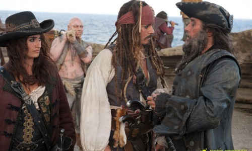 First Look Photos for Pirates of the Caribbean: On Stranger Tides Shows Ian McShane as Blackbeard