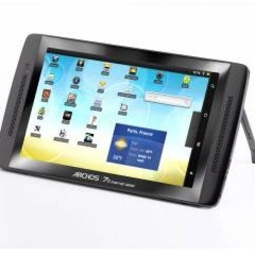 ARCHOS 70 Internet Tablet: The First Android Tablet with 250 GB HDD Available Right Now