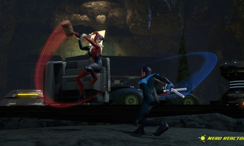 Harley Quinn in Her Classic Outfit in DC Universe Online