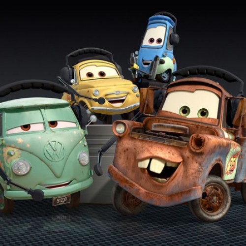 Cars 2: Here's a Look at Lightning McQueen and His Pit Crew