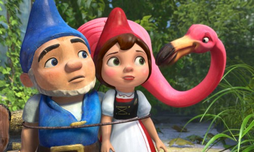 New Film Clips for Gnomeo and Juliet