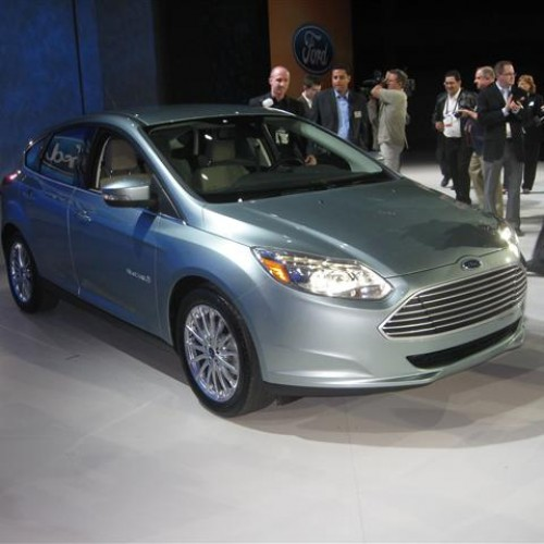 Ford Focus Electric Unveiled at CES 2011 with Gallery