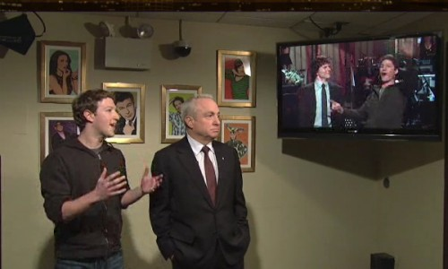 Mark Zuckerberg Makes a Surprise Guest Appearance on SNL – Awkward
