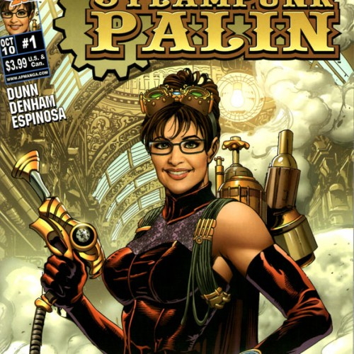'Steampunk Palin' the Comic Book