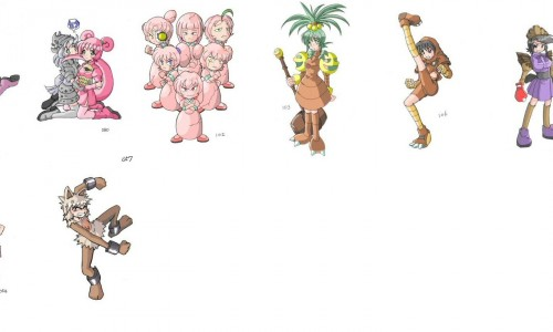 Pokemon as you've never seen them before…….