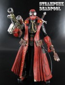 Steampunk Deadpool Figure