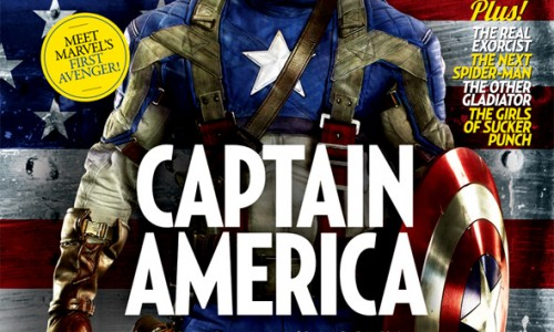 New Captain America Empire Magazine Cover