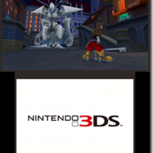 Nintendo 3DS Kingdom Hearts Titled Kingdom Hearts 3D: Dream Drop Distance