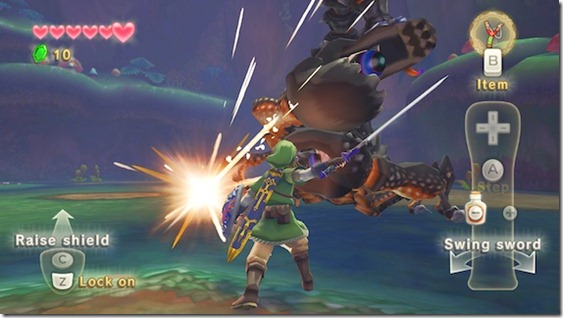 Conquer The Skyward Sword And Find Zelda With The Wii Motion Plus