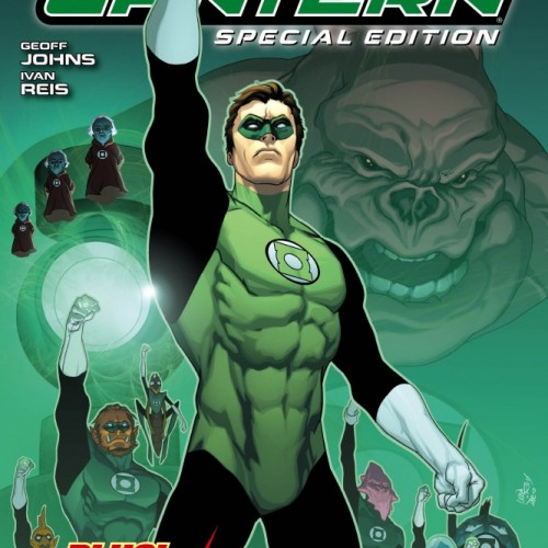Green Lantern/Flashpoint Free Comic Book Day Edition