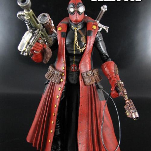 Steampunk Deadpool With Kung Fu Grip Action!