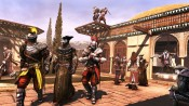 ACB_DLC_DaVinci_MP_11_VIP_KnightsProtectingDoctor Assassin's Creed Brotherhood Da Vinci Disappearance
