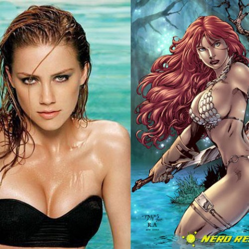 What Does Amber Heard Have to Say About Her Being Red Sonja?