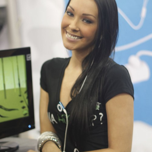 The Babes of CES 2011 Gallery: Hellooo Nurse!