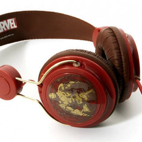 Iron Man Coloud Headphones Giveaway Winner!