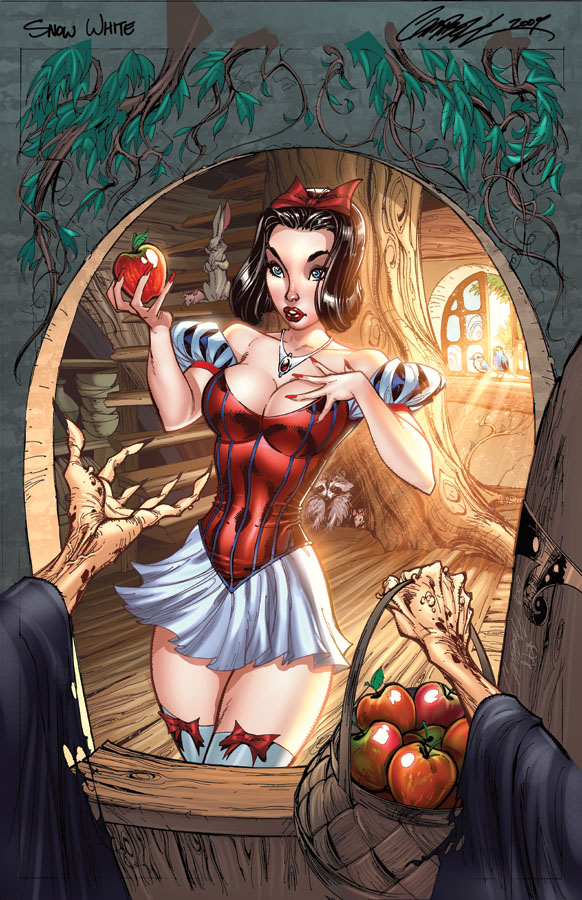 j scott campbell�s fairytale fantasies gets sexy nerd