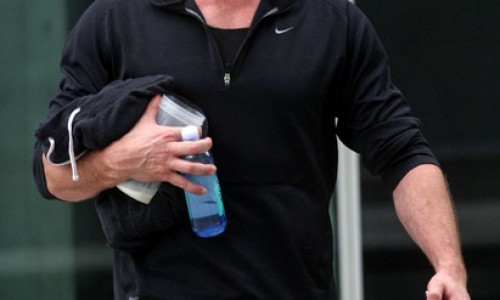 Hugh Jackman Seen Bulking Up for 'The Wolverine'