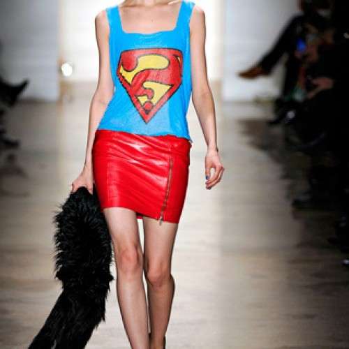 New York Fashion Week 'Super' Models