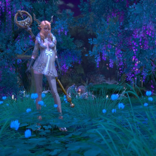 TERA Online Race and Classes Feature: High Elves, Berserker and Priest