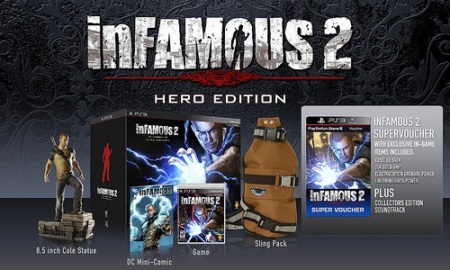 inFAMOUS 2 Electrifies with Release Date, Hero Edition, and Pre-Orders
