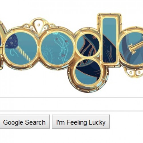 Google Celebrates Birthday for 'Father of Science Fiction'