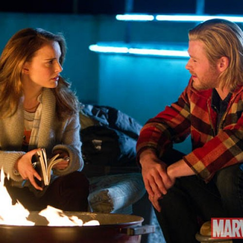 First Thor Clip Debut: Thor's Arrival on Earth