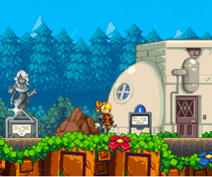 Iconoclasts close up beginning