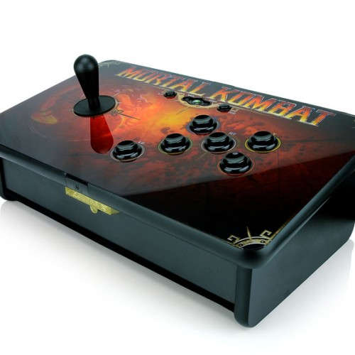 Finish Him/Her Using the Mortal Kombat Fight Stick