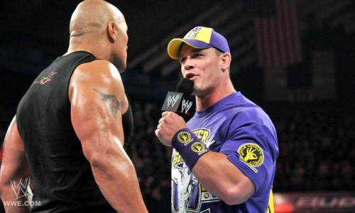 The Rock/John Cena Feud Begins
