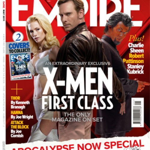 Three New X-Men: First Class Empire Covers