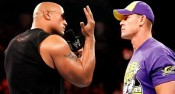 The Rock vs John Cena