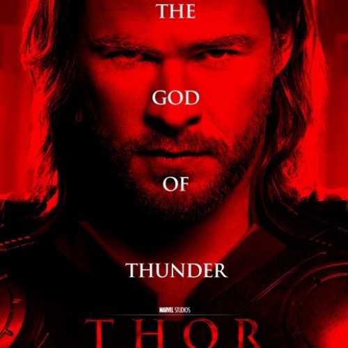 New Thor Poster Turns Red and Banner Shows the Gods Looking Badass