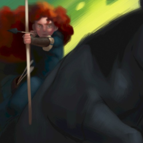4 Pictures of Concept Artwork for Pixar's Next Movie, 'Brave'