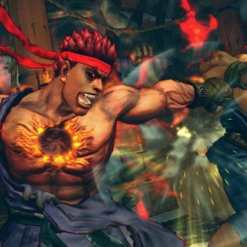 Evil Ryu Joins Super Street Fighter IV Arcade