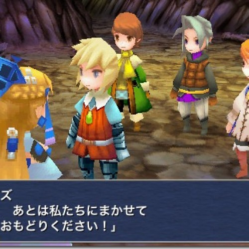 Final Fantasy 3 Finally Released Worldwide on iPhone, iPod Touch