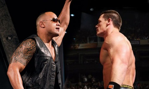 WWE Prepares For The Rock and John Cena Feud