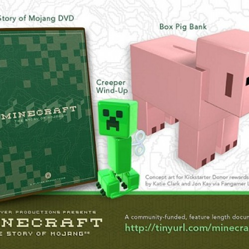 Minecraft Documentary Backers Get Sweet Swag, Including Executive Producer Credit