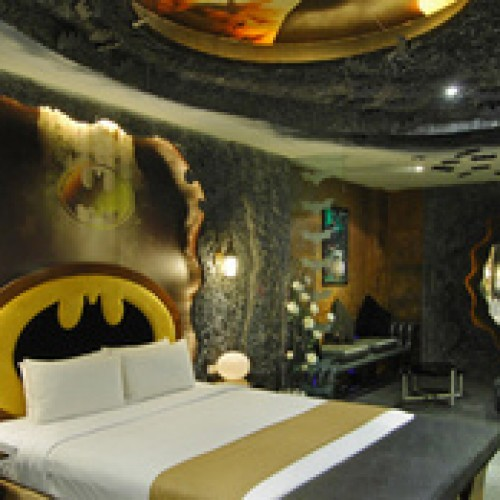 Get Laid like Batman in this Hotel Love Suite