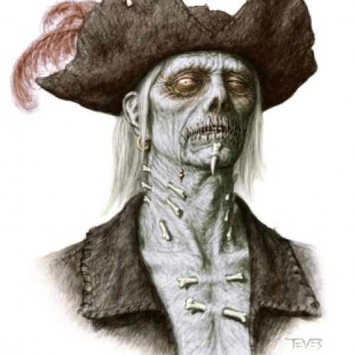 Zombie Artworks Galore for Pirates of the Caribbean: On Stranger Tides
