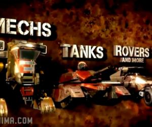 red faction battlegrounds tanks mechs rovers