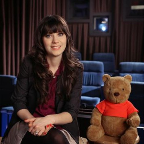Zooey Deschanel Writes Songs for Winnie the Pooh